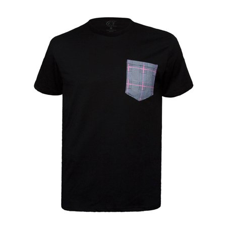 Men's Crew Neck Pocket T-Shirt Made in USA