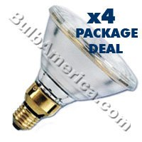 GE 55W Biax-L Low Energy Lighting 4-Pin Long Single Tube CFL 2G11 Cap 840 [4000K] Cool White Colour 55w Single Light