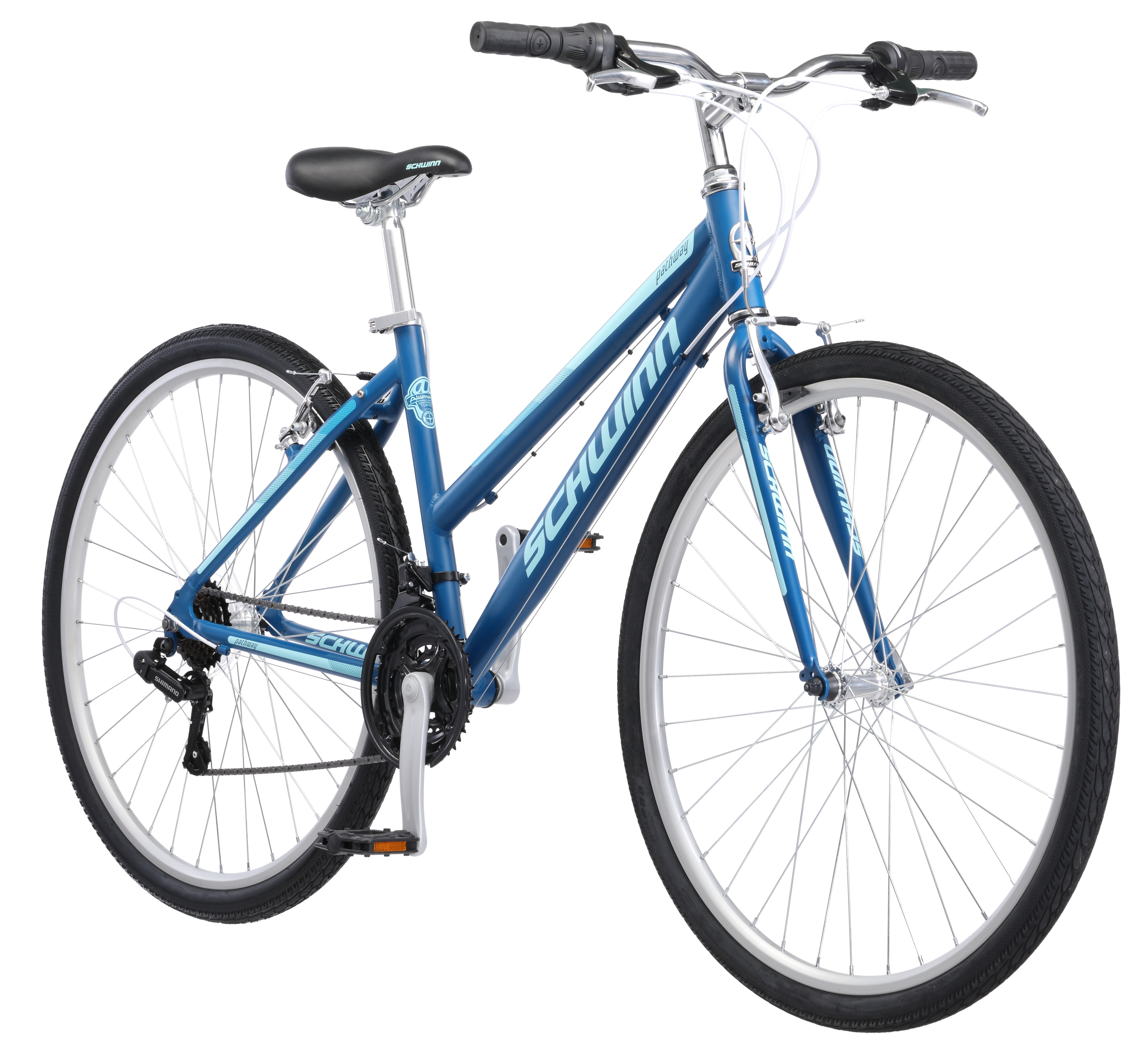Click here to buy Schwinn 700C Women's Pathway Multi-Use Bike by Pacific Cycle.