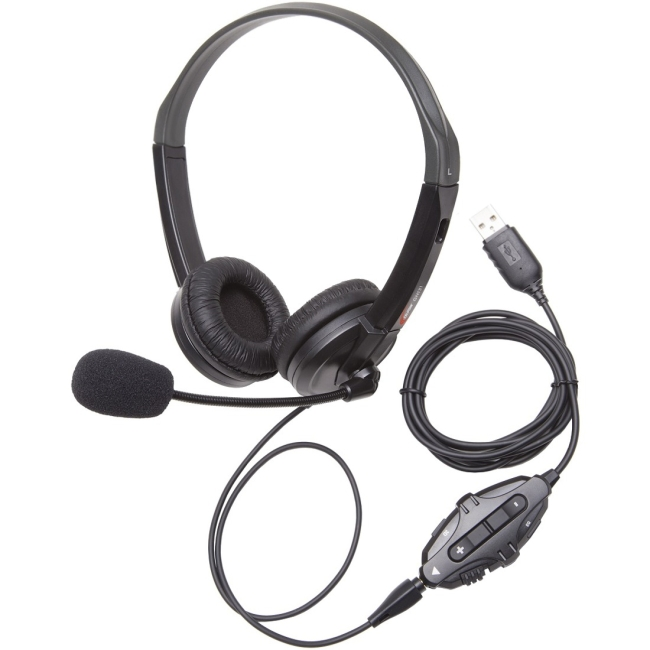 Ergoguys - GH131 - Califone GH131 Xbox 1, PS4 & PC Gaming Headset via Ergoguys - Mini-phone - Wired - Over-the-head -