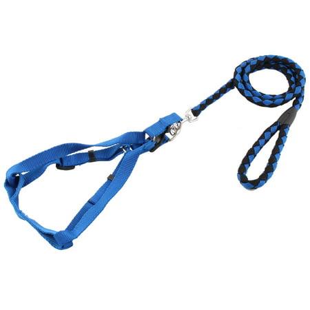 Pet Dog Doggie Nylon Rope Lead Adjustable Harness Leash Collar 128cm