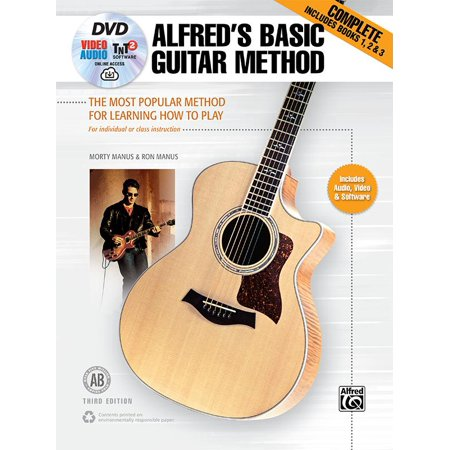 Alfred's Basic Guitar Method, Complete : The Most Popular Method for Learning How to Play, Book, DVD & Online Video/Audio/Software ()