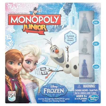 Hasbro Gaming Disney Frozen Monopoly Junior Age 5+
