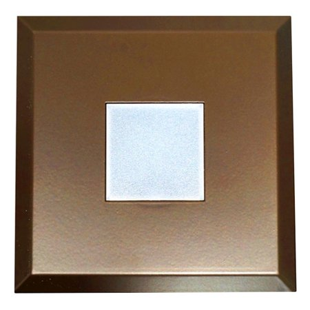 Nicor 10764   Dlf 10 Trim Sq Ob  Sure Fit Square Trim Oil Rubbed Bronze Led Recessed Can Retrofit Kit With 4 Inch Recessed Housing
