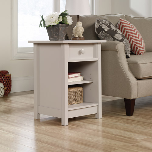 Sauder Original Cottage Collection Side Table, Cobblestone