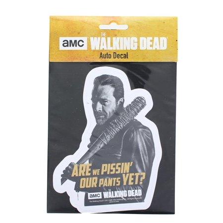 The Walking Dead Negan Auto Decal - The Walking Dead Car Accessories