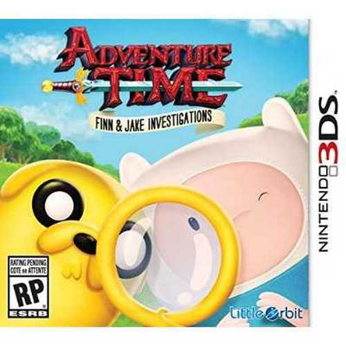 Refurbished Adventure Time Finn and Jake Investigations 3DS - Nintendo 3DS