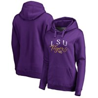 LSU Tigers Fanatics Branded Women's Graceful Pullover Hoodie - Purple