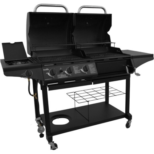 char broil charcoal grill char broil 505 sq in charcoal gas combo grill 1010 10492