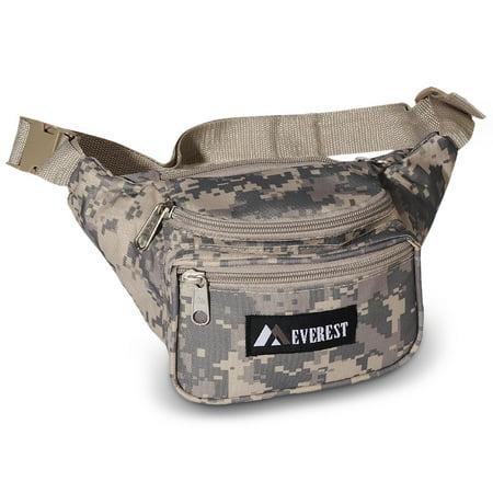 - Everest Digital Camo Fanny Pack