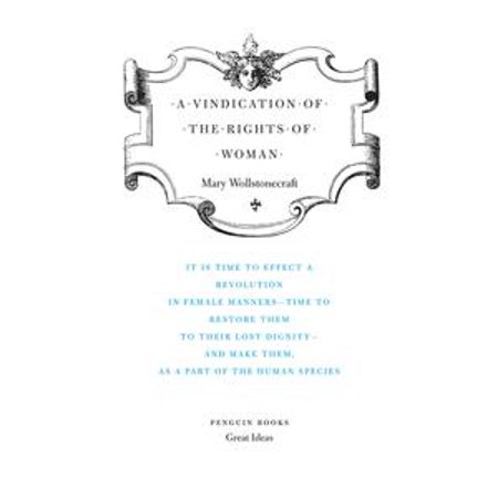 A Vindication of the Rights of Woman - eBook
