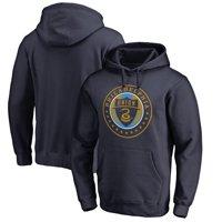 Philadelphia Union Fanatics Branded Primary Logo Pullover Hoodie - Navy