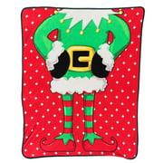 Ad N Art Ugly Christmas Throw Blanket
