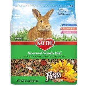 Kaytee Fiesta Max Treats for Rabbits, 6-1/2-Pound Multi-Colored