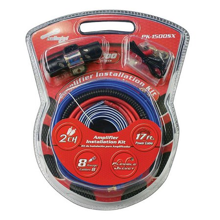 Electrical Wiring System (Nippon PK1500SX Amp Wiring Kit 8 Gauge For Systems Up To 1500 Watts )