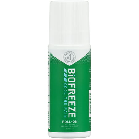 - Biofreeze Cold Therapy Pain Relief Roll-On, 2.5 FL OZ