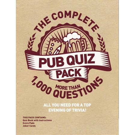 The Complete Pub Quiz Pack : More than 1,000