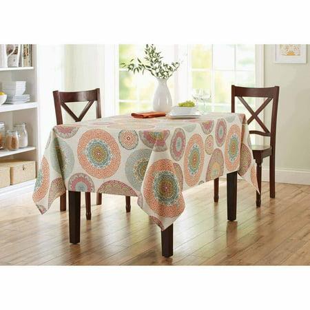 Better Homes Amp Gardens Lace Medallion Tablecloth Walmart Com