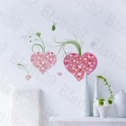LD-8090 Cheerful Heart - Wall Decals Stickers Appliques Home Decor