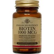 Solgar Biotin 1000 mcg - 50 Vegetable Capsules