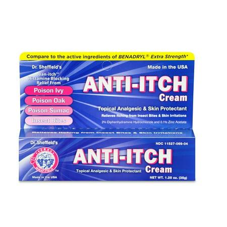 Skin Protectant Anti-Itch Cream Analgesic 1 Oz Tube Dr  Sheffield's MS-60746