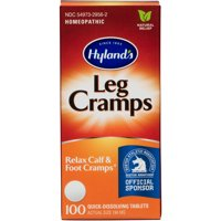 Hyland's Leg Cramp Tablets, 100 Count, Natural Relief of Calf, Leg and Foot Cramp