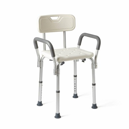 Ktaxon Medical Tool-Free Assembly Spa Bathtub Shower Lift Chair, Portable Bath Seat, Adjustable Shower Bench, White Bathtub Lift Chair with Arms