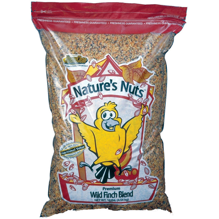 Natures Nuts 00061 25 Lbs Premium Wild Finch Blend