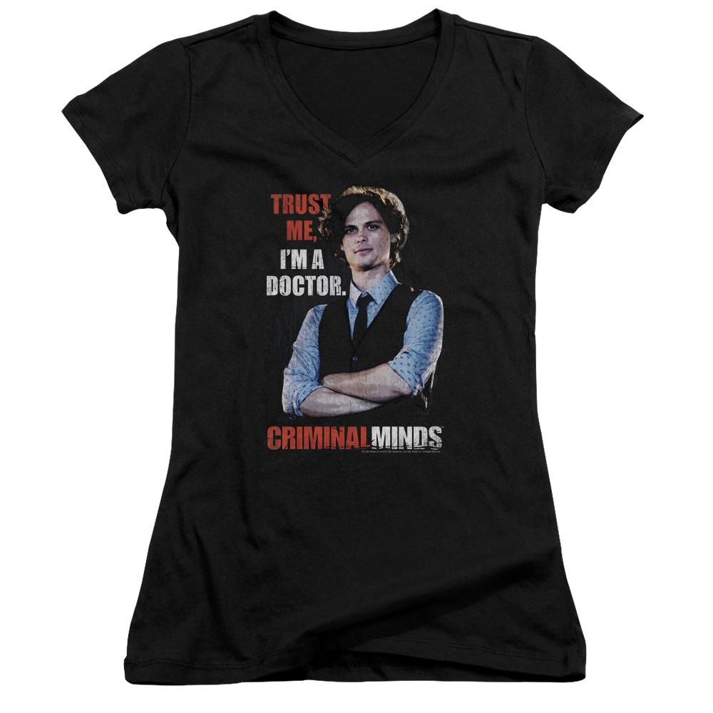 Trust Me Juniors V-Neck Shirt