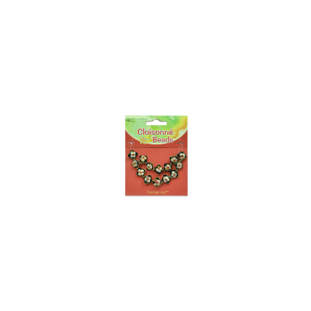 Expo Int'l Cloisonne Beads Pack of - Magnetic Beads Cloisonne Design
