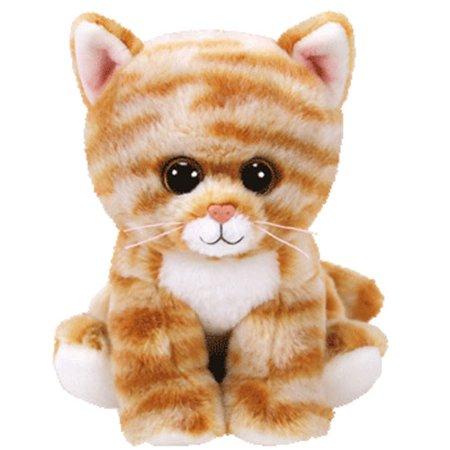 TY Beanie Baby - CLEO the Orange Tabby Cat (6 inch)