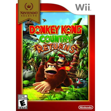 Donkey Kong Country Returns For Nintendo Wii