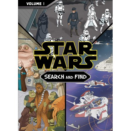 Star Wars Search and Find Vol. I Mass Market