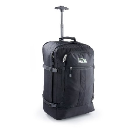 Cabin Max Lyon Flight Approved Bag Wheeled Hand Luggage - Carry on Trolley (Riley Wheeled Cabin Bag)