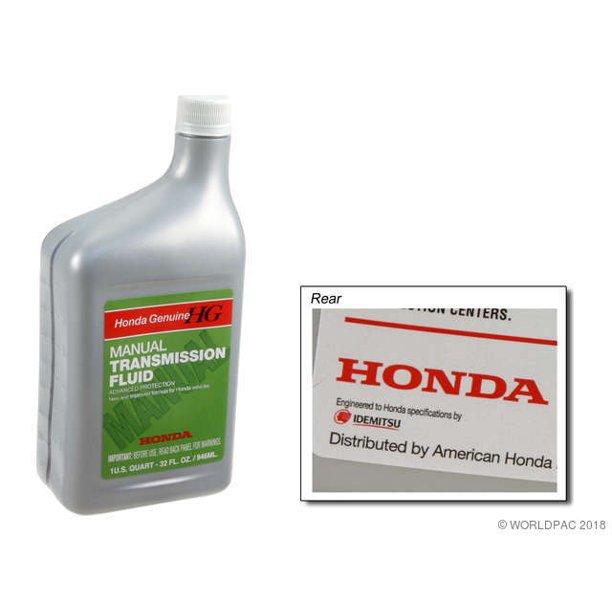 Genuine W0133 1814758 Manual Trans Fluid For Acura Honda Walmart Com Walmart Com