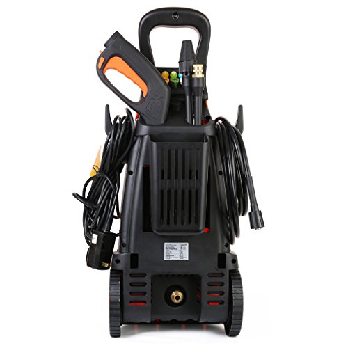 Ivation Electric Pressure Washer 2200 PSI 1.8 GPM with Power Hose Nozzle Gun and Turbo Wand, All Parts Included, W/Built in Soap Dispenser - image 1 de 8