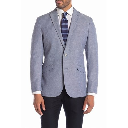 Mens Sport Coat Two-Button Dotted Slim Fit 40