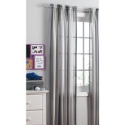 your zone crushed ombre long curtains, gray