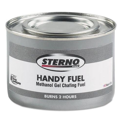 STERNO Handy Fuel Methanol Gel Chafing Fuel, 189.9g, Two-...