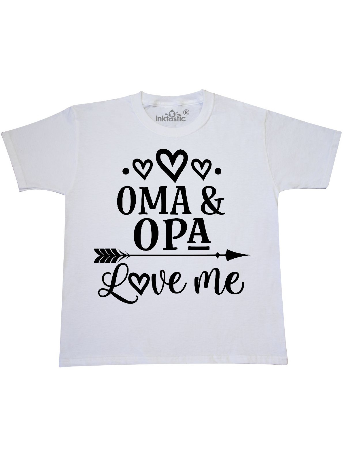 My Oma Opa Love Me Grandkids Youth T-Shirt