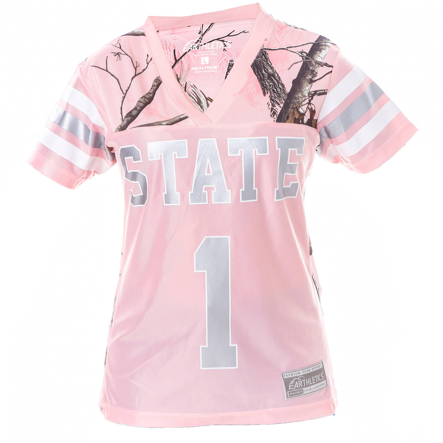 NCAA Mississippi State Ladies Pink Game Day Jersey