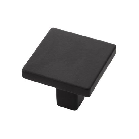 Belwith-Keeler B077034-10B 1.31 in. Square Emerge Collection Knob, Oil-Rubbed Bronze
