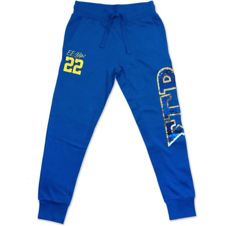 Big Boy Sigma Gamma Rho Divine 9 Sequin Womens Jogger Sweatpants [Royal Blue - S]