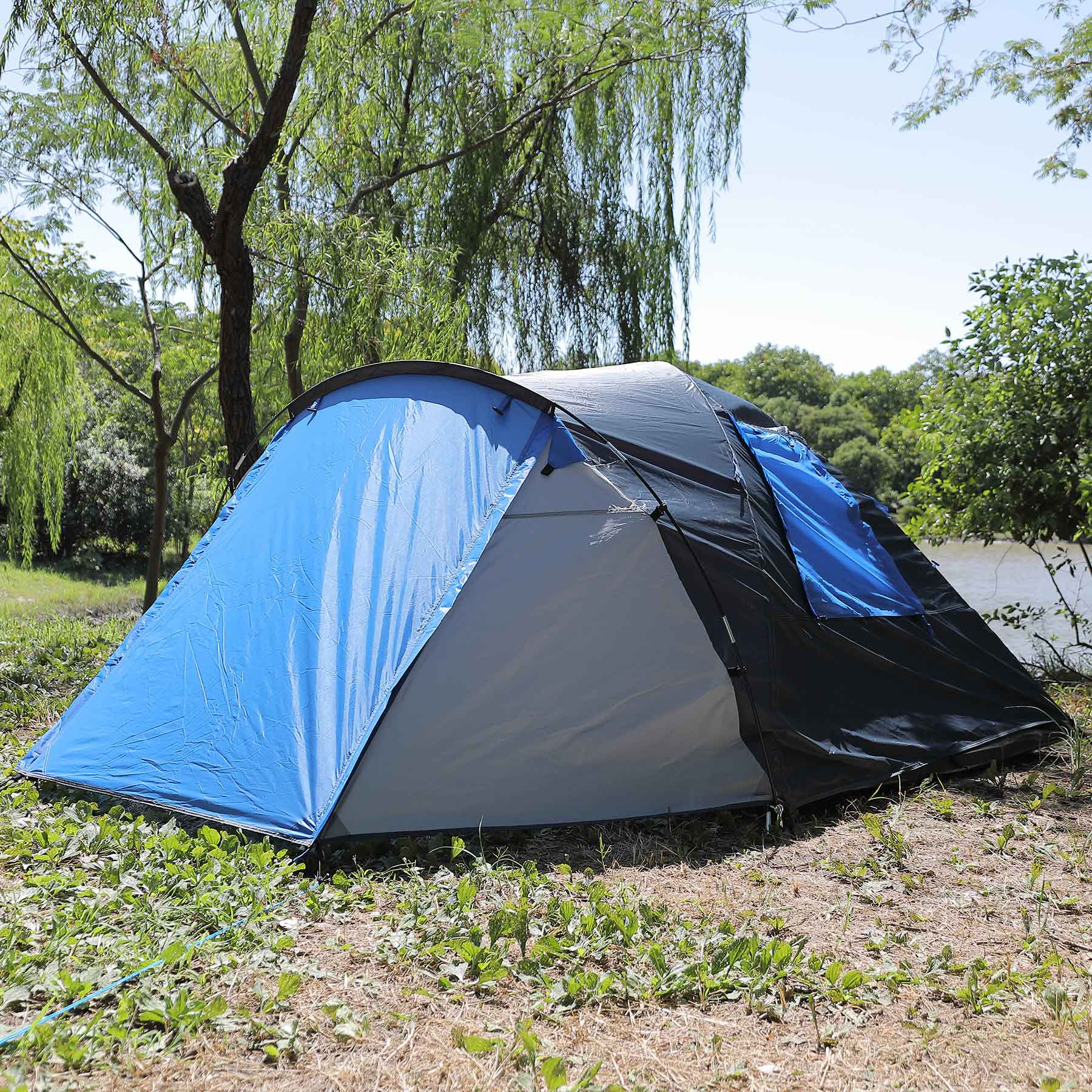2 Person Water Resistant Camping Tent for Camping Hiking Outdoor Use