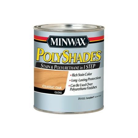Minwax® PolyShades® 275 VOC Classic Oak Gloss, 1-Qt