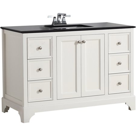 Brooklyn Max Dartmouth 48 White Bath Vanity