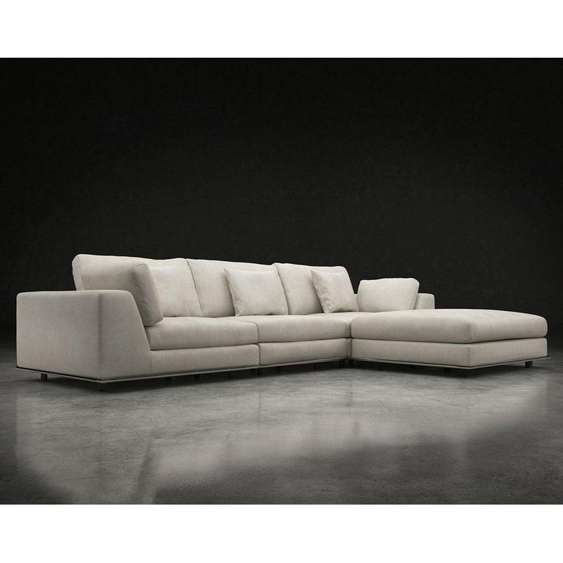 Modloft Perry 4 Piece Sectional Sofa
