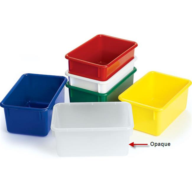 Angeles AVL1060OP Angeles Value Line Cubbie Trays - 11 inch L OPAQUE