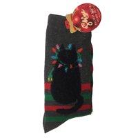 Shine Women's 1-Pair Christmas Holiday Crew Socks