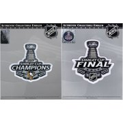 2017 NHL Stanley Cup Final Champions Pittsburgh Penguins & Championship Patch by